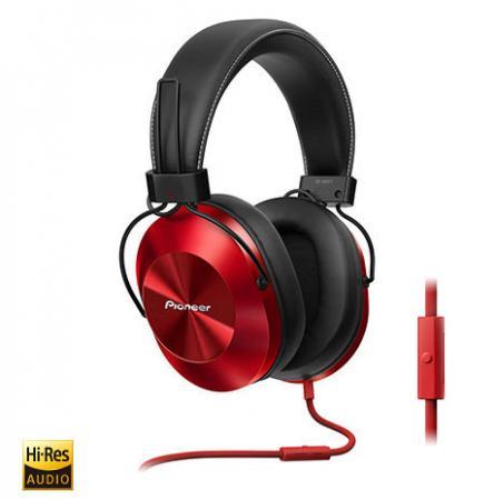 Наушники Pioneer SE-MS5T-R красный наушники pioneer se mj722t r черный красный