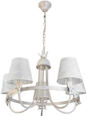 Подвесная люстра Toplight Della TL5670D-05WG подвесная люстра lamplandia 7268 18
