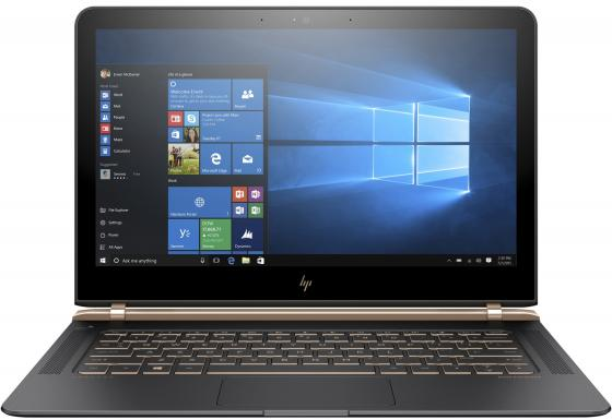 Ноутбук HP Spectre 13-v100ur 13.3 1920x1080 Intel Core i5-7200U 256 Gb 8Gb Intel HD Graphics 620 серый Windows 10 Home X9X77EA sheli laptop motherboard for hp 4720s 633552 001 for intel cpu with non integrated graphics card 100