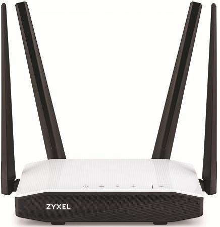 Беспроводной маршрутизатор Zyxel Keenetic Air 802.11aс 1167Mbps 5 ГГц 2.4 ГГц 1xLAN белый черный zyxel gs1100 24