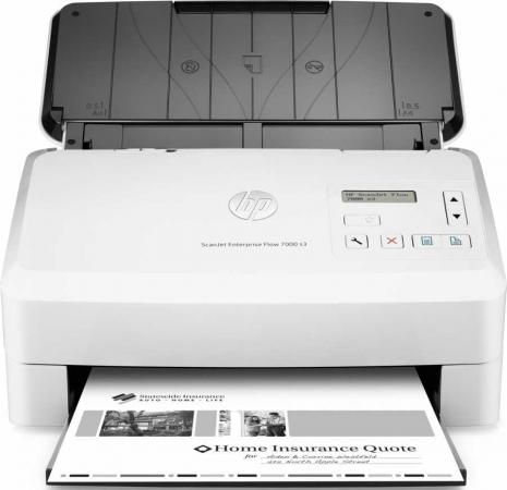 Сканер HP Scanjet Enterprise Flow 7000 S3 L2757A  hp scanjet enterprise flow n9120