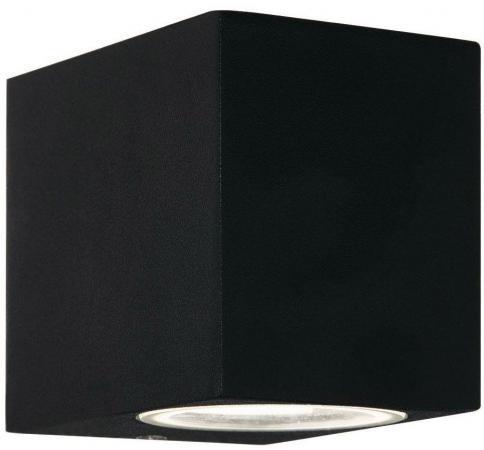 Уличный настенный светильник Ideal Lux Up AP1 Nero ideal lux уличный настенный светильник ideal lux twin ap1 nero