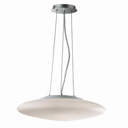 Подвесной светильник Ideal Lux Smarties Bianco SP3 D40 настольная лампа ideal lux smarties bianco smarties bianco tl1