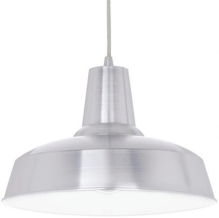 Подвесной светильник Ideal Lux Moby SP1 Alluminio встраиваемый спот точечный светильник ideal lux swing fi1 alluminio 083162