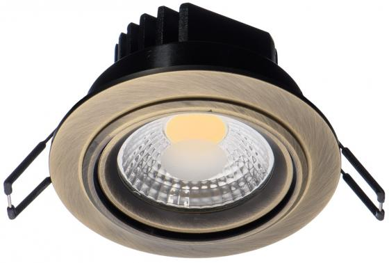 Встраиваемый светодиодный светильник MW-Light Круз 637015601 роза 43249k 150 шамп 1034144