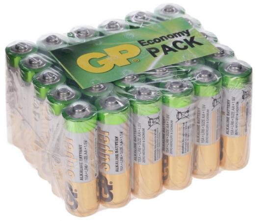 Батарейки GP Super Alkaline LR6 30 шт GP 15A-B30 рулетка sturm 2010 08 gp 30