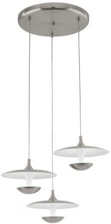 Подвесная светодиодная люстра Eglo Toronja 95956 подвесная светодиодная люстра eglo pontevedra 95394