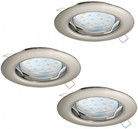 Встраиваемый светильник Eglo Peneto 94237 eglo встраиваемый светодиодный светильник eglo peneto 1 95894