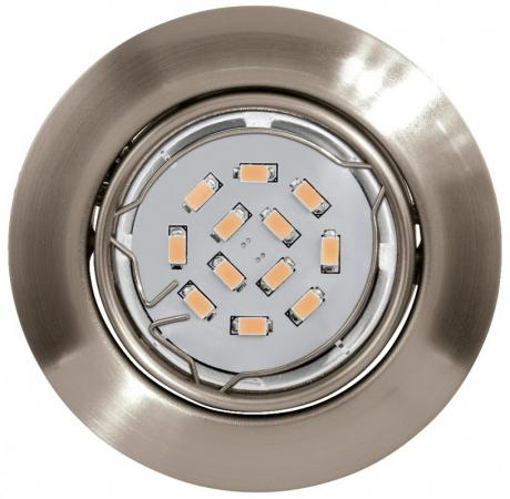 Встраиваемый светильник Eglo Peneto 94242 eglo встраиваемый светодиодный светильник eglo peneto 1 95894