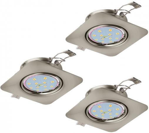 Встраиваемый светильник Eglo Peneto 94268 eglo встраиваемый светодиодный светильник eglo peneto 1 95894