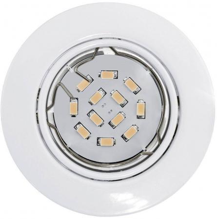 Встраиваемый светильник (в комплекте 3 шт.) Eglo Peneto 94406 встраиваемый светильник eglo peneto 94263