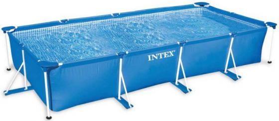 Каркасный бассейн INTEX 450х220х85 см бассейны intex каркасный подводный мир 183х38 см
