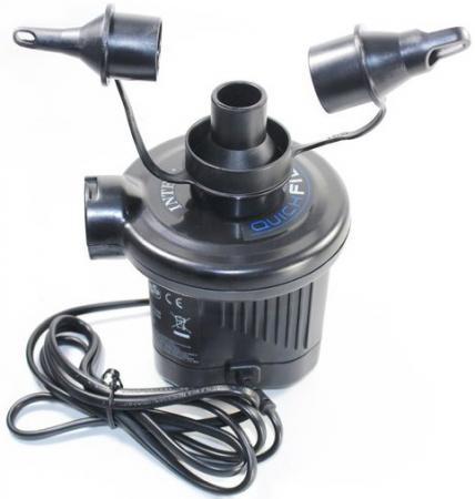 Насос электрический INTEX Quick Fill DC 220-240 V 3 насадки 66620 насос ручной intex double quick 30 см