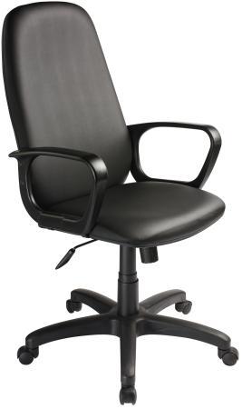 лучшая цена Кресло Бюрократ CH-808AXSN/OR-16 искусственная кожа черный