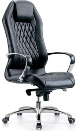 Кресло Бюрократ Aura/Black кожа черный кресло бюрократ aura brown
