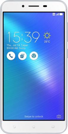 "Смартфон ASUS ZenFone 3 Max ZC553KL серебристый 5.5"" 32 Гб LTE Wi-Fi GPS 3G 90AX00D3-M00300"
