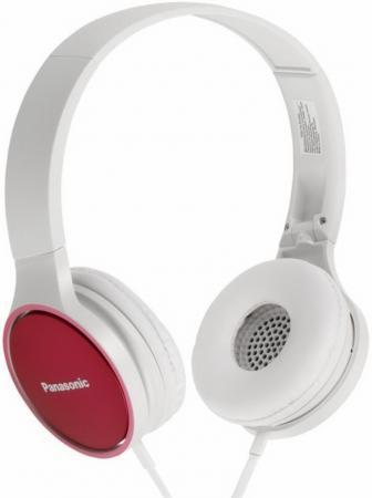 Наушники Panasonic RP-HF300GC-P бело-красный недорого