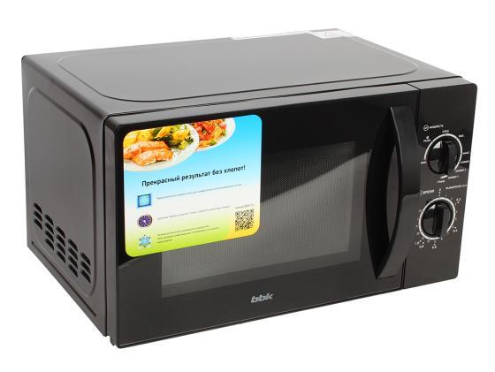 Микроволновая печь BBK 20MWG-739M/B 700 Вт чёрный