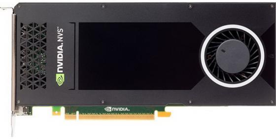 Видеокарта 4096Mb PNY nVidia NVS 810 PCI-E DVI VCNVS810DVIBLK-1 Bulk видеокарта hp nvidia nvs 315
