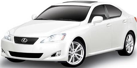 Машинка на радиоуправлении Rastar Lexus 1:14 IS 350, 30 см 30800 машинка lexus lx570 1 43 технопарк