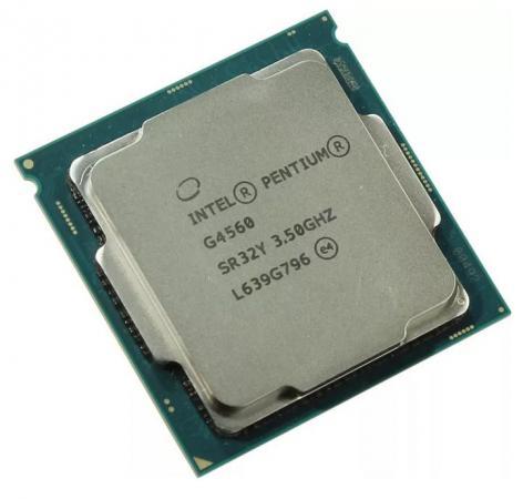 Процессор Intel Pentium G4560 3.5GHz 3Mb Socket 1151 OEM процессор intel pentium dual core g4600 soc 1151 3 6ghz hd graphics 630 oem