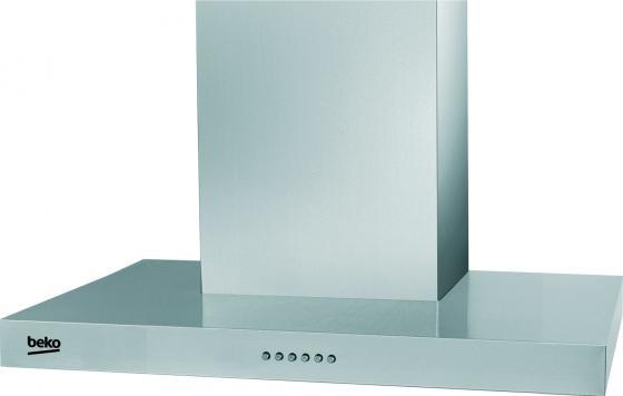 Вытяжка каминная Beko CWB 6550 X серебристый вытяжка каминная hotpoint ariston rhpn 6 4f am x серебристый