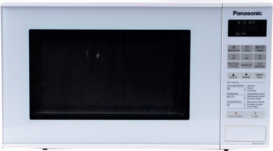 Микроволновая печь Panasonic NN-GT261WZTE 800 Вт белый микроволновая печь bbk 23mws 927m w 900 вт белый