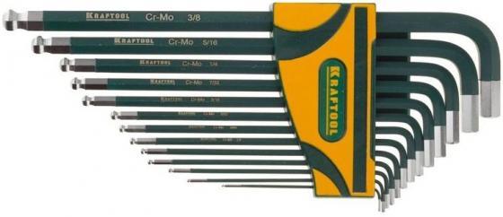 Ключ разводной Kraftool 27444-H13 набор ключей имбусовых длинных kraftool industrie 27444 h13