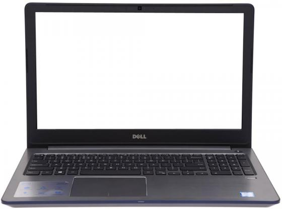 Ноутбук DELL Vostro 5568 15.6 1920x1080 Intel Core i5-7200U SSD 256 8Gb Intel HD Graphics 620 синий Windows 10 Home 5568-9975 ноутбук dell vostro 5568 5568 9975 5568 9975