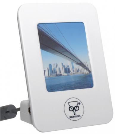 Концентратор USB 2.0 Konoos UK-09 4 x USB 2.0 белый