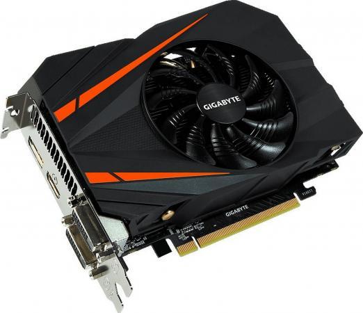 Видеокарта 6144Mb Gigabyte GeForce GTX1060 PCI-E 192bit GDDR5 DVI HDMI DP GV-N1060IX-6GD Retail видеокарта 6144mb gigabyte geforce gtx 1060 windforce oc pci e 192bit gddr5 dvi hdmi dp gv n1060wf2oc 6gd retail