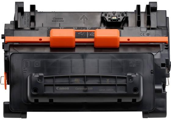 Картридж Canon CRG 039 BK для LBP351X черный 0287C001