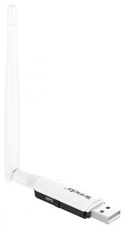 Беспроводной USB адаптер Tenda U1 802.11n 300Mbps 2.4ГГц адаптер usb tenda w311u 150m rt3070 sma