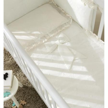 Комплект постельного белья 3 предмета Pali Tulip (белый)