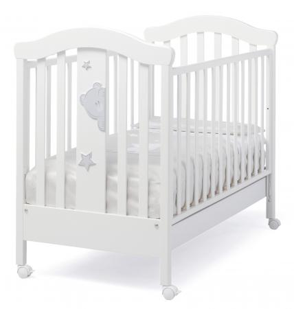 Кроватка Erbesi Stellina (белый)
