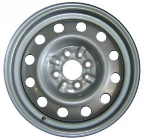 Диск ГАЗ ВАЗ-10 5.5xR14 4x98 мм ET35 Серебристый штампованный диск тзск ваз 2112 5 5x14 4x98 d58 6 et35 s