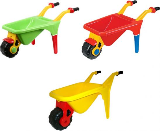 Тачка Полесье Садовод в ассортименте 4376 полесье набор игрушек для песочницы тачка садовод с лопатой и граблями цвет желтый