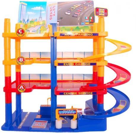 Гараж городской Нордпласт 431203 игровые наборы нордпласт гараж автопаркинг 2