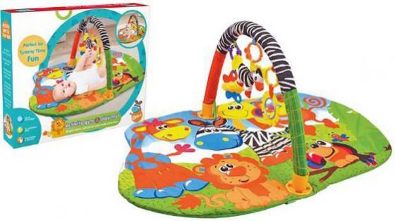 Купить Коврик развивающий В джунглях, кор. Y8300116, Жирафики, Развивающие коврики