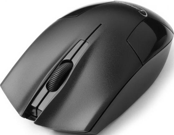 Мышь беспроводная Gembird MUSW-300 чёрный USB шина к 197 195 r14с 106 104q