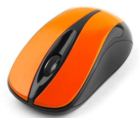 все цены на Мышь беспроводная Gembird MUSW-325-O оранжевый USB