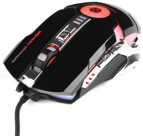 Мышь проводная Gembird MG-530 чёрный USB мышь проводная gembird mg 510 чёрный usb