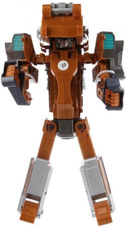 Робот-бластер Shantou Gepai 61253 коричневый серый зеленый 6927810612534 пистолет shantou gepai desert eagle серый прицел гелевые пули usb зарядка 635448