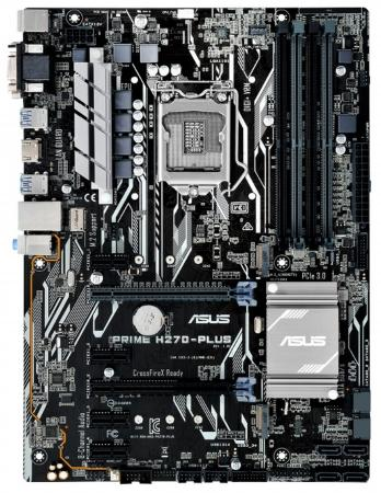Материнская плата ASUS PRIME H270-PLUS Socket 1151 H270 4xDDR4 1xPCI-E 16x 3xPCI-E 1x 1xPCI-E 4x 6 ATX Retail asus p7p55 lx deluxe desktop motherboard p55 socket lga 1156 i3 i5 i7 ddr3 16g atx uefi bios original used mainboard on sale