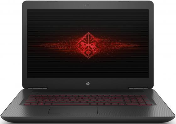 Ноутбук HP Omen 17-w102ur 17.3 3840x2160 Intel Core i7-6700HQ 1 Tb 256 Gb 16Gb nVidia GeForce GTX 1070 8192 Мб черный Windows 10 Home компьютер hp z2 mini g3 intel core i7 6700 16gb ssd 256 m620 2048 мб windows 10 professional черный 1cc42ea