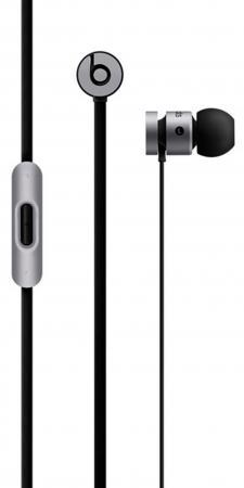 Наушники Apple urBeats 2 In-Ear серый  MK9W2ZE/B наушники apple urbeats in ear headphones розовый mllh2ze a