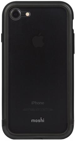 Чехол Moshi Luxe для iPhone 7 Plus чёрный 99MO090202