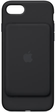 Чехол-аккумулятор Apple Smart Battery Case для iPhone 7 чёрный MN002ZM/A чехол аккумулятор apple smart battery case для iphone 7 чёрный mn002zm a