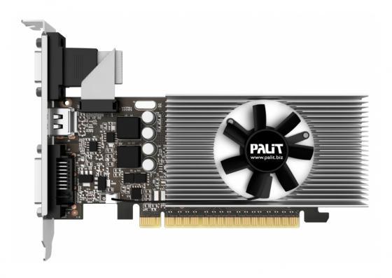 Видеокарта 2048Mb Palit GeForce GT730 PCI-E DVI HDMI HDCP PA-GT730K-2GD5H NE5T7300HD46-2081F Oem видеокарта asus geforce gtx 1060 1620mhz pci e 3 0 6144mb 8208mhz 192 bit dvi hdmi hdcp rog strix gtx1060 o6g gaming