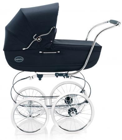 Коляска для новорожденного Inglesina Classica на шасси Balestrino ChromeIvory (AB05E0MAR + AE05E3100) коляска inglesina classica nappa blue white